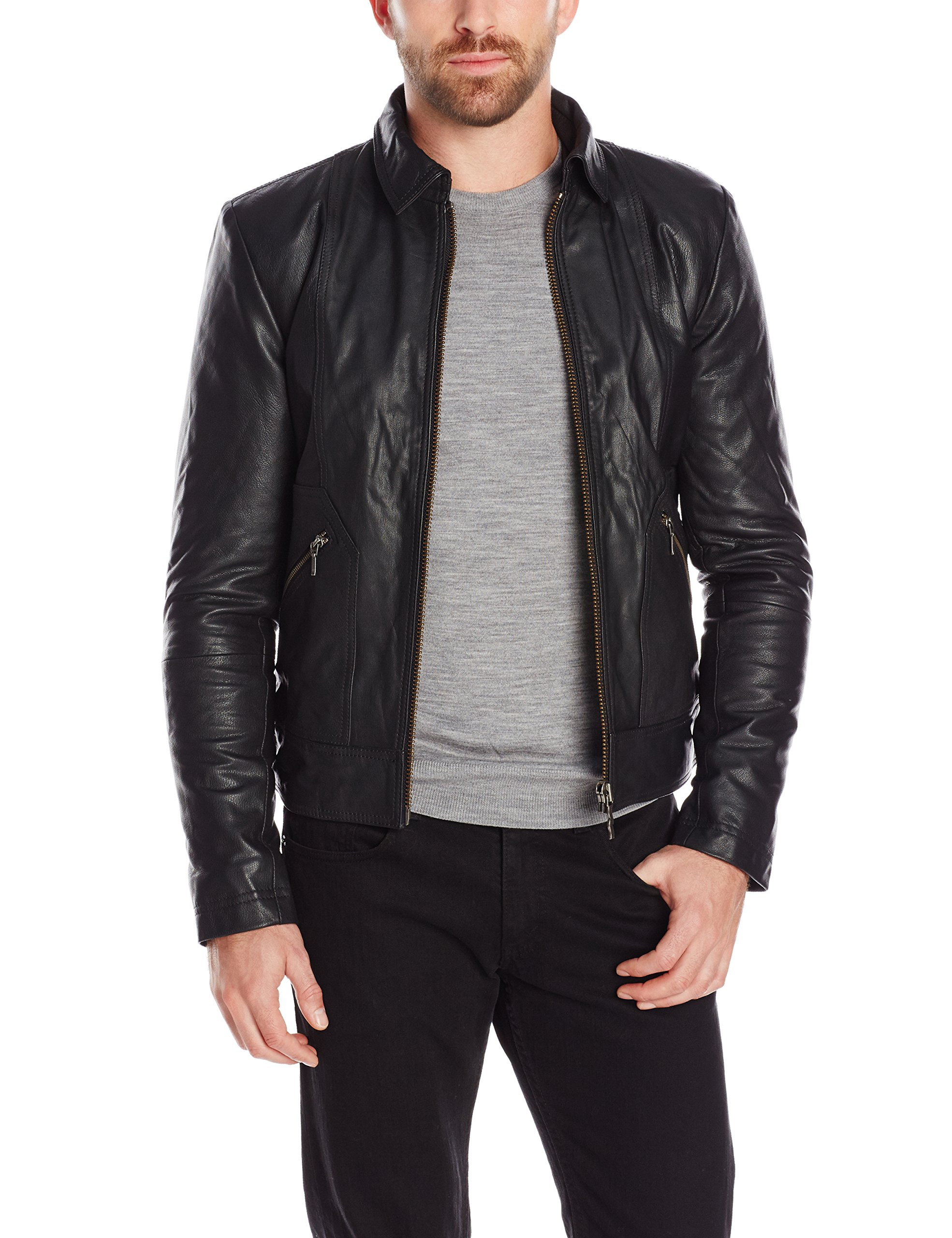 Nudie jeans jonny leather jacket