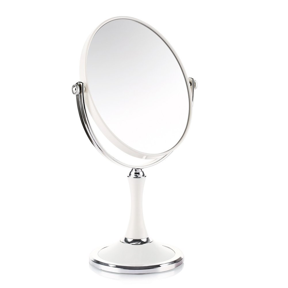Joly Tabletop 6 7 Inch Double Sided Makeup Mirror 1x And