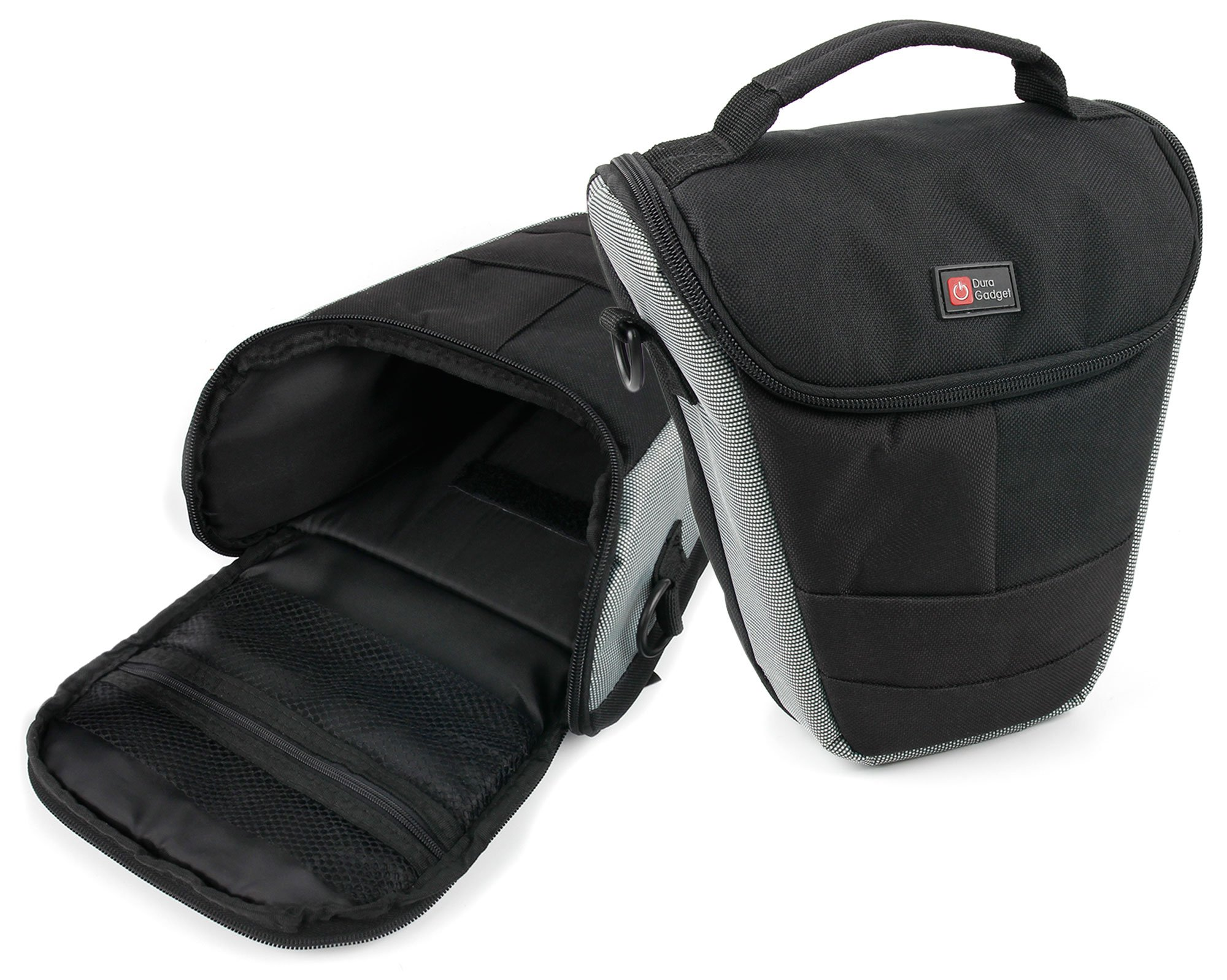 Ultra Portable Carry Case With Shoulder Strap In Black