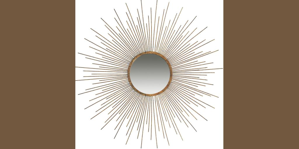A Amp B Home Kendall Mirror 39 By 39 Inch Product8