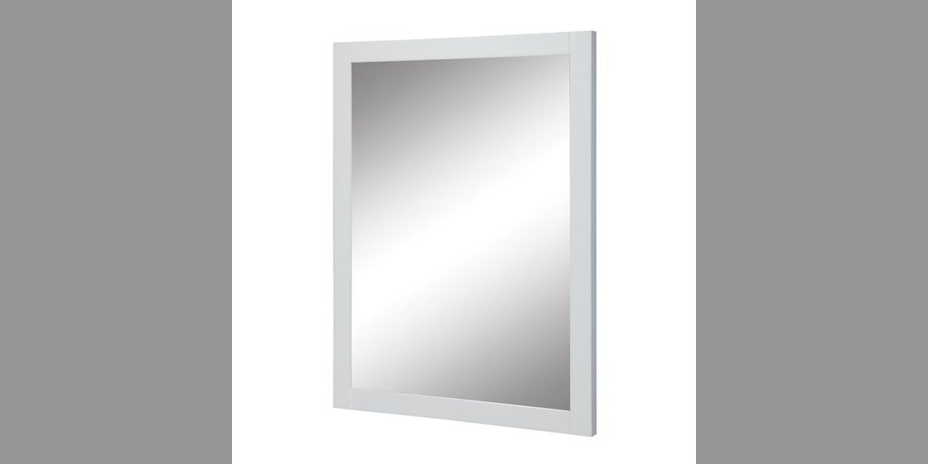 Decolav 9707 Wht Cameron 24 Inch Wall Mirror White Product8