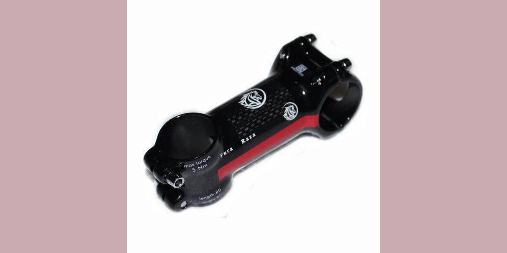 Bike Stem 28 6mm 31 8mm 80mm Alloy 3k Carbon Stem Red